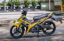 Dikasih Baju Kuning, Yamaha Jupiter MX 135 Jadi Tambah Manis dan Elegan