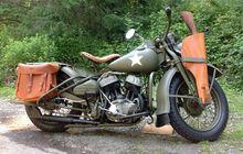 Kenalan sama Harley-Davidson WLA, Motor Ini Awalnya Dipakai Tentara saat Perang Dunia II Lho