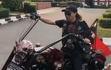 Sekarang Dimutasi ke Humas Polri, Dulu Jacklyn Choppers Pernah Lakukan Upacara HUT RI Ala Bikers