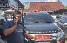 Memalukan, Pajero Sport Dinas Ketua DPRD Mamuju Ditahan Polisi Pakai Pelat Palsu