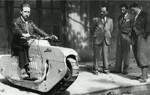 Enggak Pakai Roda, Motor Satu Ini Kaki-kakinya Mirip Tank, Begini Tampilannya