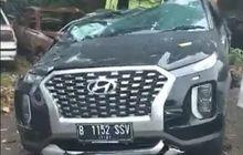 Hancur Sudah, Begini Kondisi Hyundai Palisade Bos Indomaret yang Kecelakaan di Tol Cipularang