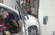 Airbag Honda Mobilio Meledak, Tiang Beton Retak Ulah Ngeyel di Lokasi Terlarang