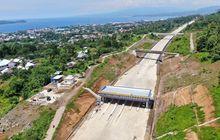 Pengerjaan Konstruksi Sudah di Atas 90 Persen, Jalan Tol Manado-Bitung Seksi 2B Ditargetkan Beroperasi Penuh Akhir 2021
