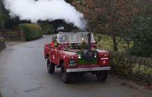 Tak Perlu Waktu Lama, Frank Rothwell Berhasil Rakit Land Rover Bermesin Uap, Pertama di Dunia?