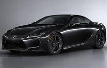 Lexus LC Coupe Black Inspiration, Bodi Gelap dan Punya Audio Mantap