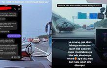 Sok Gaya Pacaran Pakai Mobil Dinas PJR, Karir Oknum Polantas di Ujung Tanduk