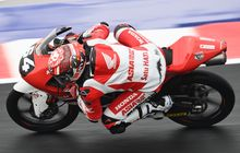 Biasa Pakai Nomor 16, Ada Alasan Mario Aji Pakai Nomor 64 di Moto3 Emilia Romagna 2021 Bikin Terharu