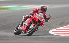 Hasil Kualifikasi MotoGP Emilia Romagna 2021 - Pecco Bagnaia Raih Pole Position Usai Merangkak dari Q1, Valentino Rossi Mengecewakan