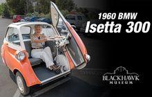 Belum Banyak yang Tahu, Inilah BMW Isetta 300 Pintunya di Depan Mirip Becak