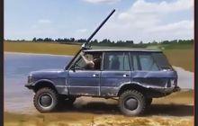 Range Rover Classic Dimodif Bisa Melintas di Dalam Air, Ini Sih 'Selam Utility Vehicle' Jadinya