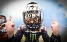 Fabio Quartararo Juara Dunia MotoGP 2021 Dicegat Tim Ducati Lenovo Ketika Menuju Parc Ferme
