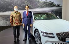 Wow, Sedan Listrik Genesis G80 Resmi Jadi Mobil VIP KTT G20 Bali