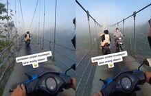 Disebut 'Jembatan Sirotol Mustaqim', Ternyata Begini Fakta Jembatan Gantung di Magelang Ini Sob