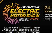 Asyik, Indonesia Electric Motor Show 2021 Siap Digelar Bulan Depan