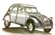 Citroen 2CV, Mobil Antik yang Jaya Pada Zamannya, Uji Suspensinya Hanya Pakai Telur