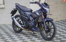 Suzuki Satria F150 Jadi Makin Sporty, Ubahan Istimewa Partnya Mewah