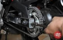 Awas Kendur, Rusak Bahkan Tiba-tiba Putus, Ini 5 Tips Mudah Rawat Rantai Motor