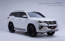 Cukup Pasang Aksesoris Simpel, Toyota Fortuner Makin Seger