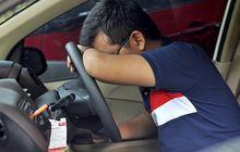 (hapus) cegah microsleep saat berkendara, segera melipir kalau mulai mengalami ini!