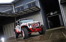 jeep wrangler jk 2012 tambah galak pakai kombinasi warna merah putih