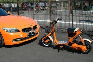 Jual Motor Qingqi Baby Matic 50cc Modif Jakarta Selatan Dhanan