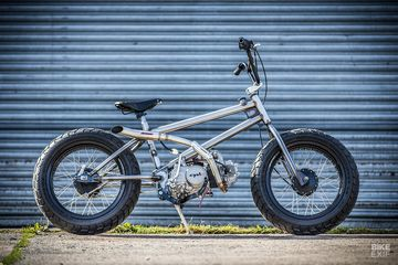 Sepeda Bmx Tak Mau Punya Pedal Mesin Motor Menempel Kaki Kaki Gemuk Gridoto Com