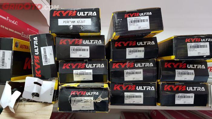 Suspensi KYB Ultra yang Dijual di Shop and Drive Fatmawati