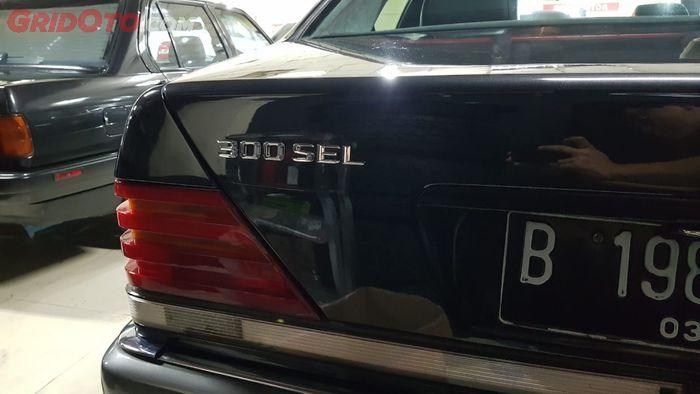 Nomenklatur Mercedes-Benz 300 SEL eks-KTT