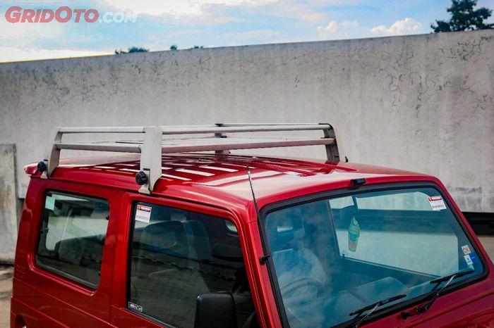 Atap Suzuki Katana dibikin trepes