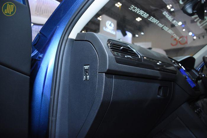 Mematikan passenger airbag Tiguan Allspace
