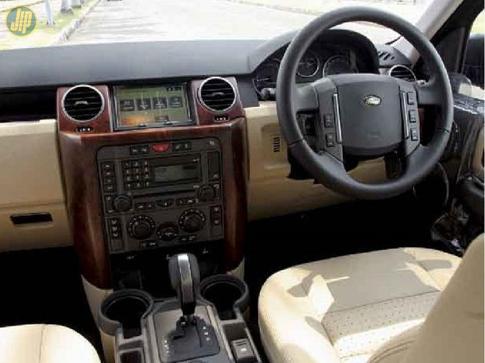 Interior Land Rover Discovery 3