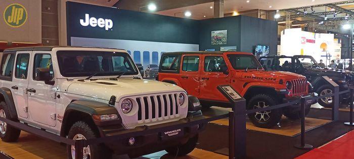 Booth Jeep di IIMS 2021.