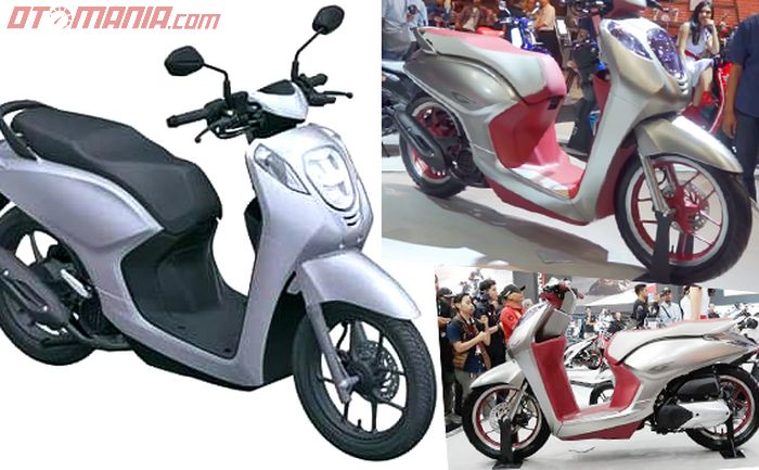 Motor baru Honda mirip Scoopy, basisnya dari G-Concept. Akan pakai nama Genio?