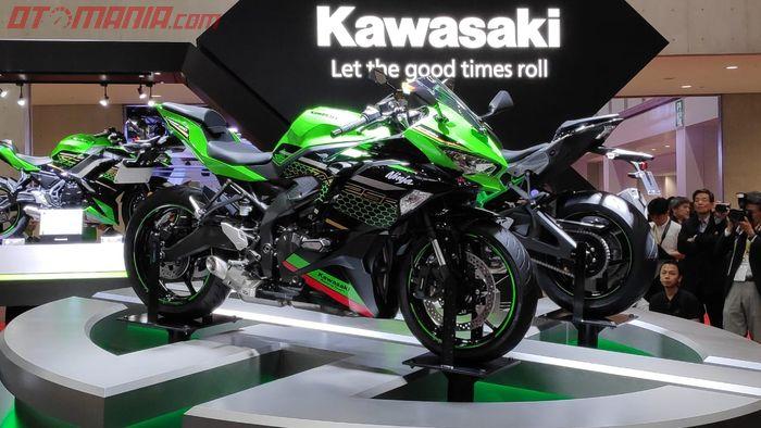 Kawasaki Ninja ZX-25R, Ninja 4 silinder akhirnya rilis di Tokyo Motor Show 2019