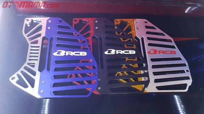 Pilihan kombinasi warna cover radiator Racing Boy