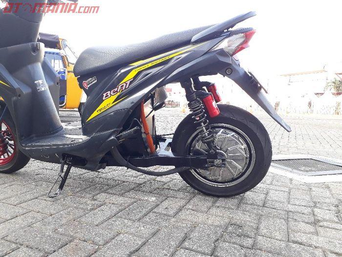 Konversi motor listrik Honda BeAT buatan Petrikbike