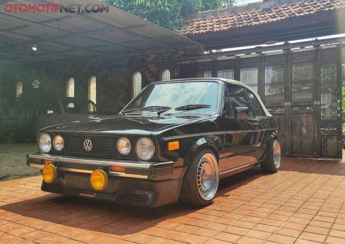 VW Golf Mk1, populasinya langka di Indonesia