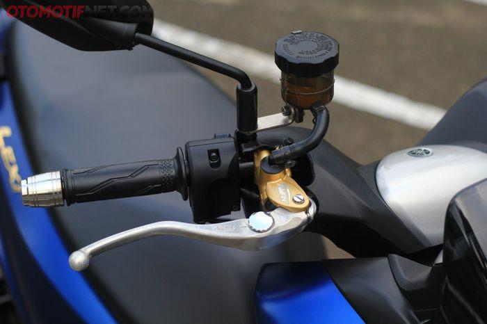 Master rem Nissin Samurai Radial di Yamaha Lexi tidak perlu banyak coak