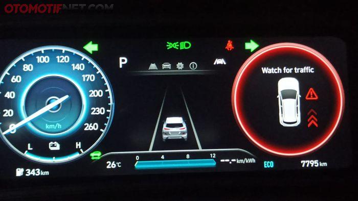 Hyundai Kona Electric punya fitur Safe Exit Warning