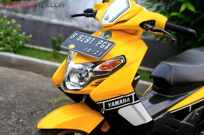 Bodi depan diganti dengan Nouvo Vietnam yang khas dengan lampu tengahnya