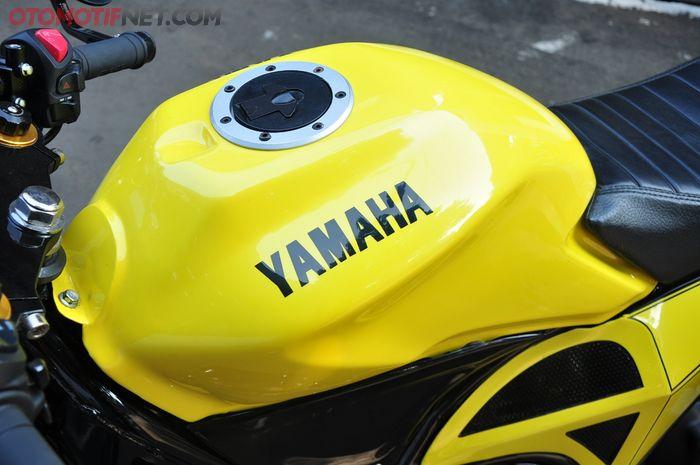 Tangki bensin comot New Mega Pro sebagai identitas baru XMAX ini