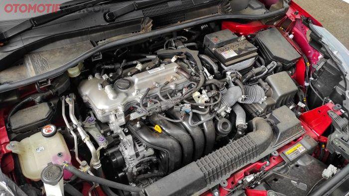 Corolla Cross Gasoline hanya dipersenjatai satu mesin bensin naturally aspirated berkapasitas 1.800 cc, DOHC 16 katup, Dual VVT-i