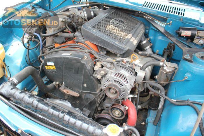 Engine swap ke mesin 3S-GTE dengan turbo