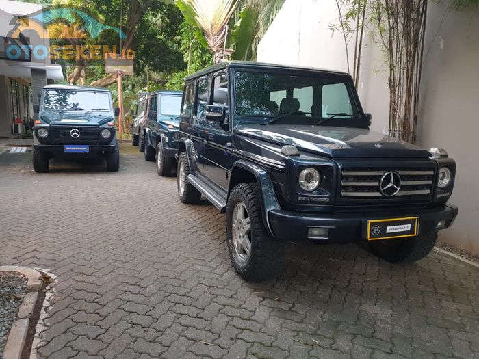 Mercedes-Benz G-Class di Garasi Pejabat