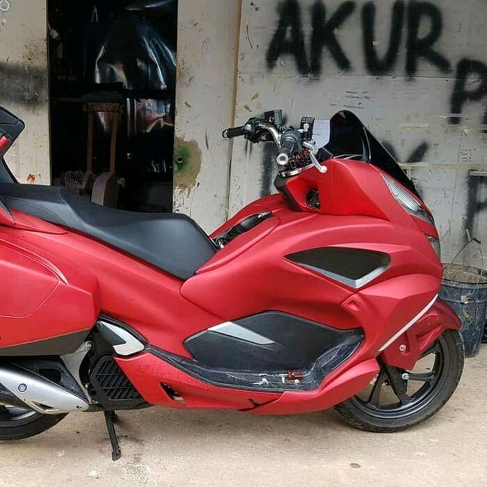 Sixth image of Begini Sejarah Dan Makna Lambang Motor Honda Seperti Sayap with Modifikasi All New Honda PCX Pakai Cover Ini ...