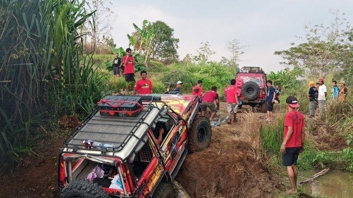 Keseruan acara Millenial Off-Road TDI Soloraya