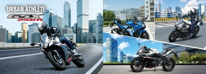 Warna baru Suzuki GSX250R