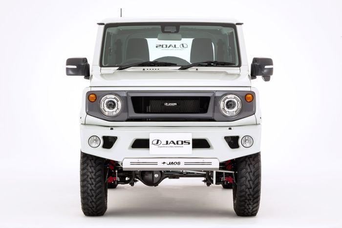 Tampilan depan Suzuki Jimny terbaru hasil garapan Jaos