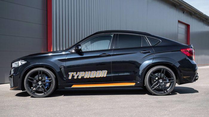 Modifikasi BMW X6 hasil racikan G-Power
